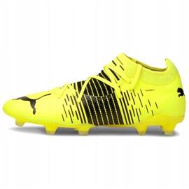 Buty piłkarskie Puma Future Z 3.1 Fg Ag M 106245 01 żółte wielokolorowe 2