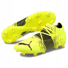 Buty piłkarskie Puma Future Z 3.1 Fg Ag M 106245 01 żółte wielokolorowe 3