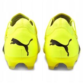 Buty piłkarskie Puma Future Z 3.1 Fg Ag M 106245 01 żółte wielokolorowe 4