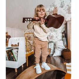 Apawwa Dziecięce Sportowe Buty Na Rzep Białe Airy 2