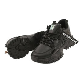 Evento Sportowe damskie sneakersy News 21SP26-3925 czarny czarne 4