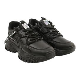 Evento Sportowe damskie sneakersy News 21SP26-3925 czarny czarne 5