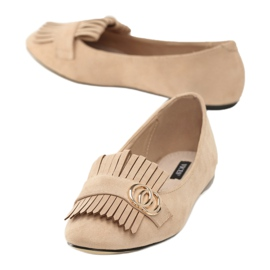 Vices 9002-14 Beige 36 41 beżowy 2
