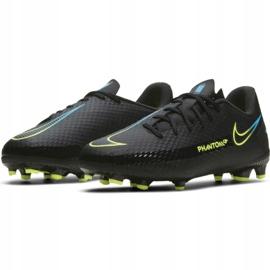 Buty piłkarskie Nike Phantom Gt Academy FG/MG Jr CK8476-090 czarne czarne 3