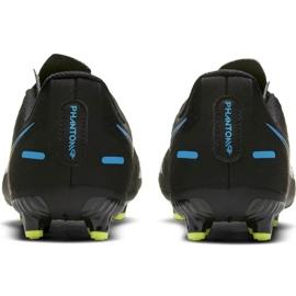 Buty piłkarskie Nike Phantom Gt Academy FG/MG Jr CK8476-090 czarne czarne 4