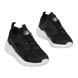 Vices B897-1A-98-black/white czarne 2
