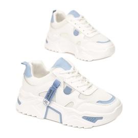 Vices 8552-101-white/blue białe niebieskie 1