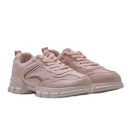 Różowe sneakersy sportowe 3157 1