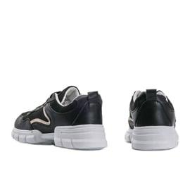Czarne sneakersy sportowe 3157 1