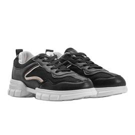 Czarne sneakersy sportowe 3157 5
