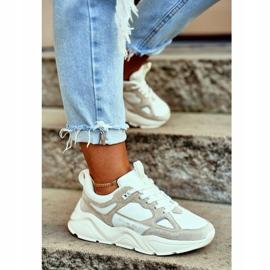 Buty sportowe Weiss Beige Big Star GG274657 beżowy białe ecru 1