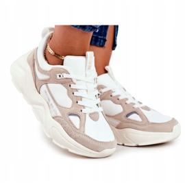 Buty sportowe Weiss Beige Big Star GG274657 beżowy białe ecru 2