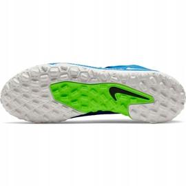Buty piłkarskie Nike Phantom Gt Academy Df Tf niebieskie CW6666 400 2