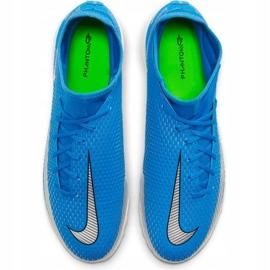 Buty piłkarskie Nike Phantom Gt Academy Df Tf niebieskie CW6666 400 5