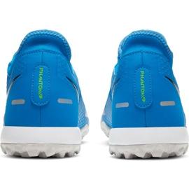 Buty piłkarskie Nike Phantom Gt Academy Df Tf niebieskie CW6666 400 4