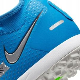 Buty piłkarskie Nike Phantom Gt Academy Df Tf niebieskie CW6666 400 7