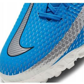Buty piłkarskie Nike Phantom Gt Academy Df Tf niebieskie CW6666 400 6