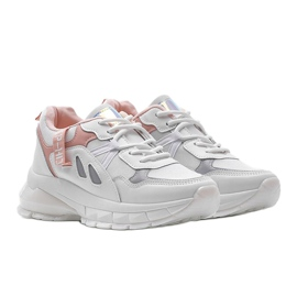 Białe sneakersy sportowe Claire 1