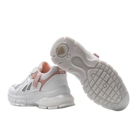 Białe sneakersy sportowe Claire 2