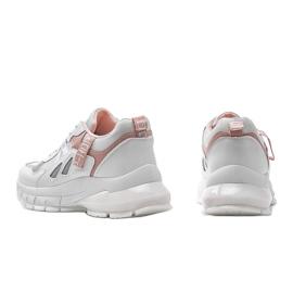 Białe sneakersy sportowe Claire 3