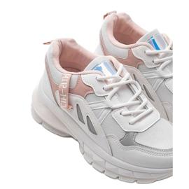 Białe sneakersy sportowe Claire 4