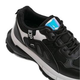 Czarne sneakersy sportowe Claire 4
