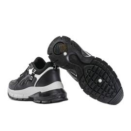 Czarne sneakersy sportowe Claire 1