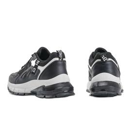 Czarne sneakersy sportowe Claire 2