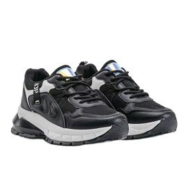 Czarne sneakersy sportowe Claire 3