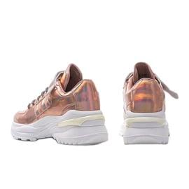 Różowe sneakersy holograficzne lollypop 2