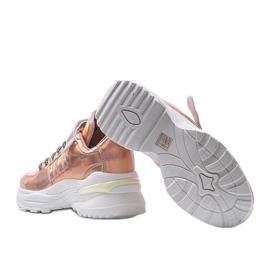 Różowe sneakersy holograficzne lollypop 3
