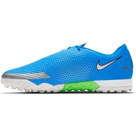 Buty piłkarskie Nike Phantom Gt Academy Tf CK8470 400 niebieskie niebieskie 2