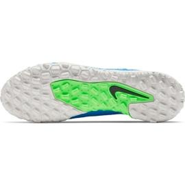 Buty piłkarskie Nike Phantom Gt Academy Tf CK8470 400 niebieskie niebieskie 5