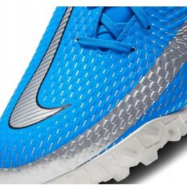 Buty piłkarskie Nike Phantom Gt Academy Tf CK8470 400 niebieskie niebieskie 6