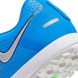 Buty piłkarskie Nike Phantom Gt Academy Tf CK8470 400 niebieskie niebieskie 7