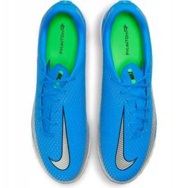 Buty piłkarskie Nike Phantom Gt Academy Tf CK8470 400 niebieskie niebieskie 1