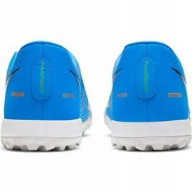 Buty piłkarskie Nike Phantom Gt Academy Tf CK8470 400 niebieskie niebieskie 4