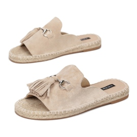 Vices 8459-14 Beige 36 41 beżowy 1