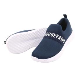 Befado obuwie dziecięce  516X082 niebieskie 5