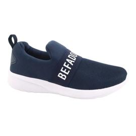 Befado obuwie dziecięce  516X082 niebieskie 1