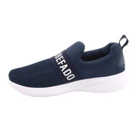 Befado obuwie dziecięce  516X082 niebieskie 2