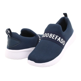 Befado obuwie dziecięce  516X082 niebieskie 4
