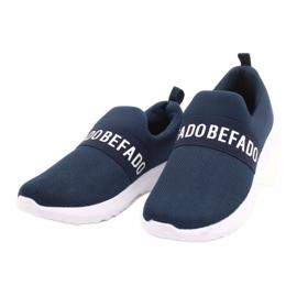 Befado obuwie dziecięce  516X082 niebieskie 3