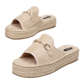 Vices 6277-14 Beige 36 41 beżowy 1