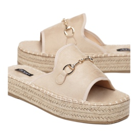 Vices 6277-14 Beige 36 41 beżowy 2
