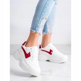Kylie Sneakersy Na Platformie białe 1