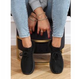 Buty sportowe skarpetkowe czarne PC01 All Black 2