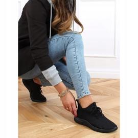 Buty sportowe skarpetkowe czarne PC01 All Black 3