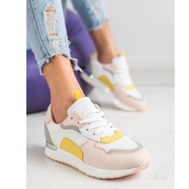 SHELOVET Lekkie Stylowe Sneakersy wielokolorowe 1