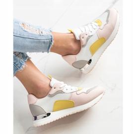 SHELOVET Lekkie Stylowe Sneakersy wielokolorowe 4